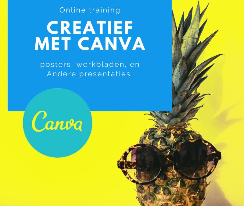 Creatief met Canva in de klas