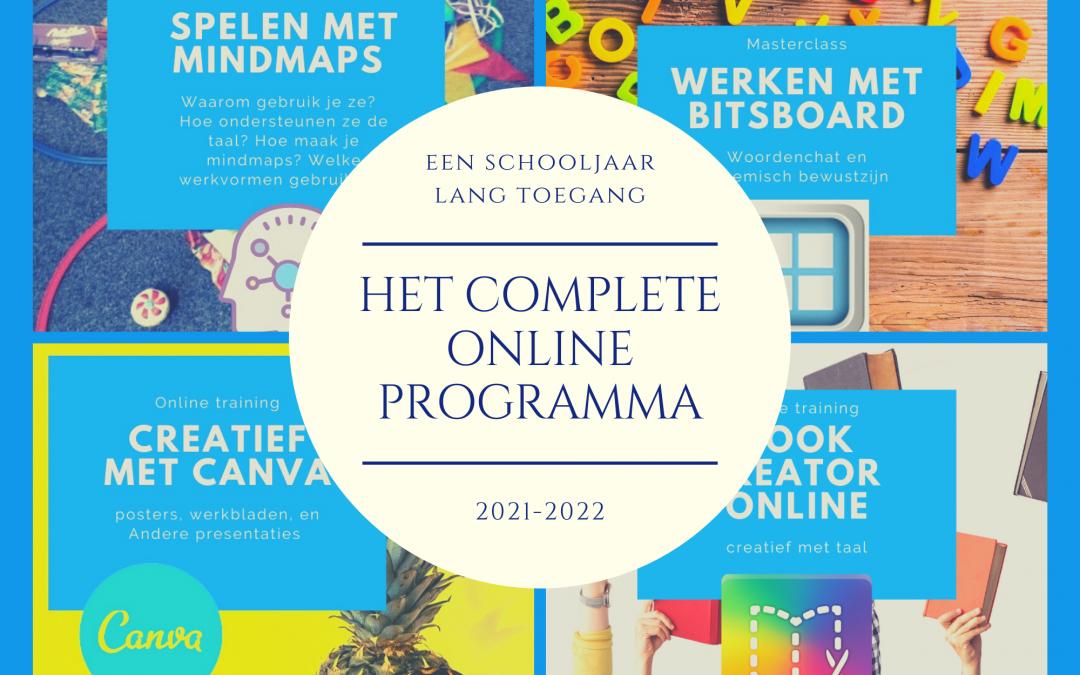 Jaarprogramma Online Academy